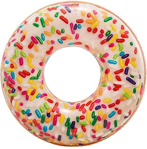 Intex 56263NP - Rueda hinchable Donut de colores 114 cm diámetro