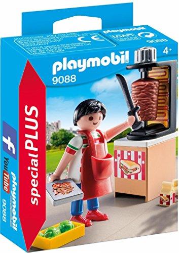 PLAYMOBIL Especiales Plus- Vendedor de Kebab Juguete, Multicolor, única (9088)