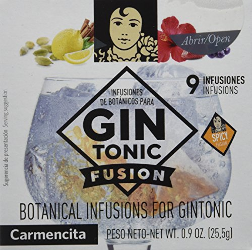 Carmencita Especias para Gin-Tonic - 9 Bolsitas