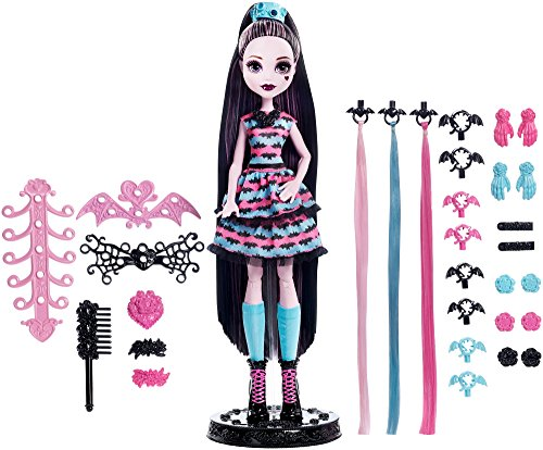 Monster High - Vampipeinados, muñeca Draculaura (Mattel DVH36)